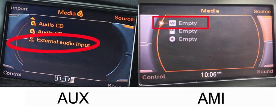 navigatie cu android pentru audi a4 a5 q5 cu auxiliar sau ami-aux caraudiomarket craiova