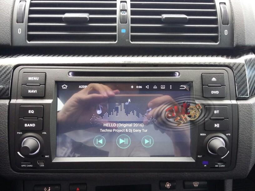 navigatie cu android bmw e46 craiova internet aplicatii youtube waze pastrare comenzi volan caraudiomarket
