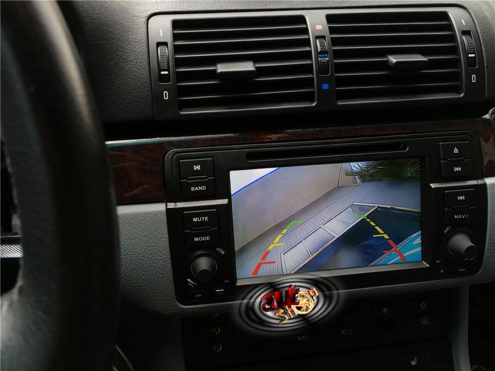navigatie dedicata cu android bmw e46 radio bluetooth dvd camera mers inapoi caraudiomarket