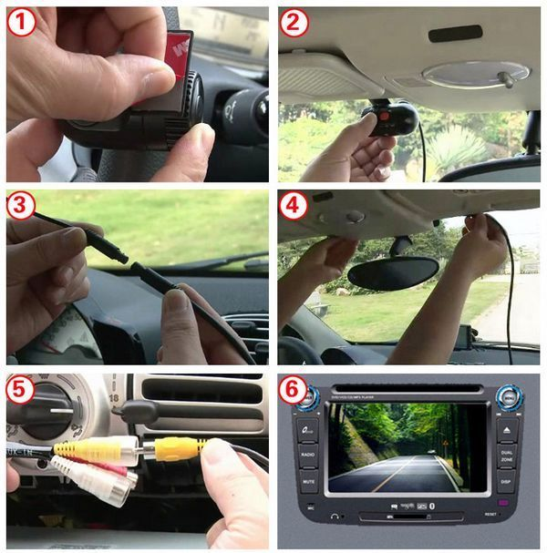 instructiuni conectare dvr auto