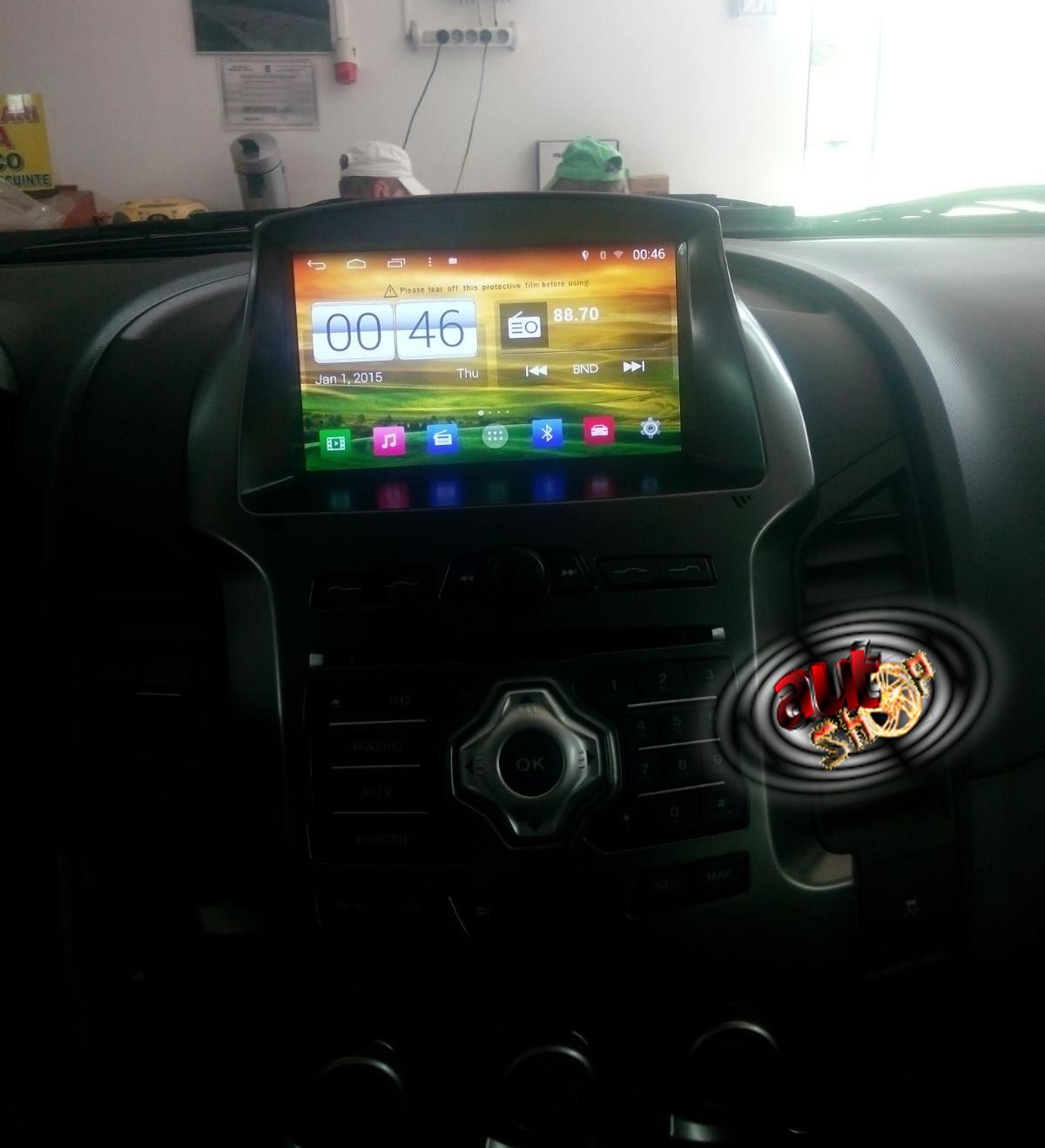 unitate cu gps ford ranger android s160 convorbiri maini libere acces internet conectare camera inregistrare trafic caraudiomarket