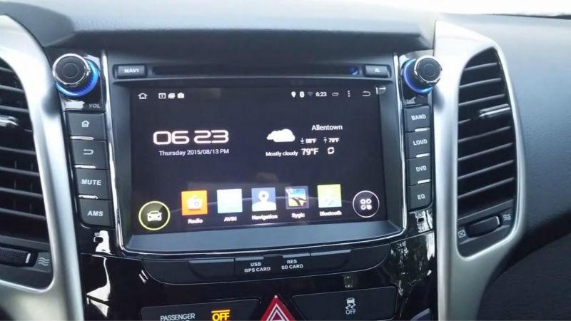 navigatie cu android hyundai i30 caraudiomarket