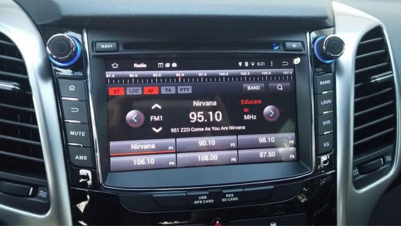 gps auto dedicat hyundai i30 cu android caraudiomarket