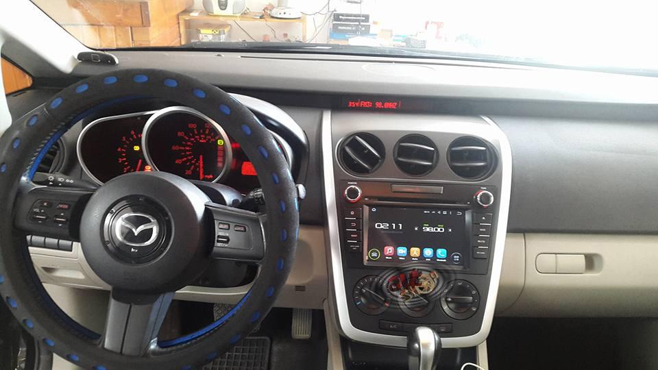 navigatie mazda cx-7 cu android internet radio gps waze multimedia filme muzica caraudiomarket
