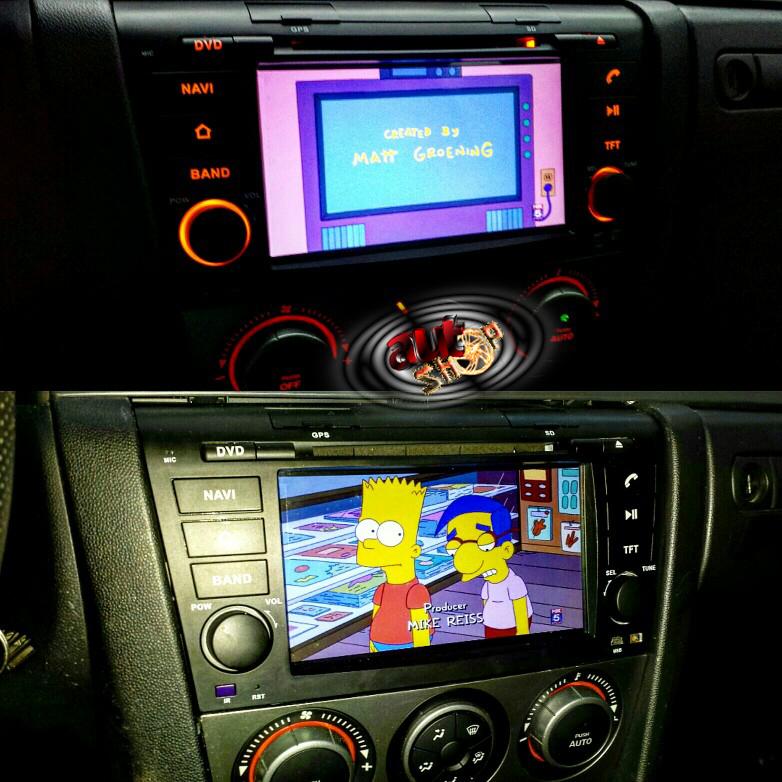 sistem navigatie cu android mazda 3 radio dvd muzica internet wifi comenzi volan camera mers inapoi caraudiomarket