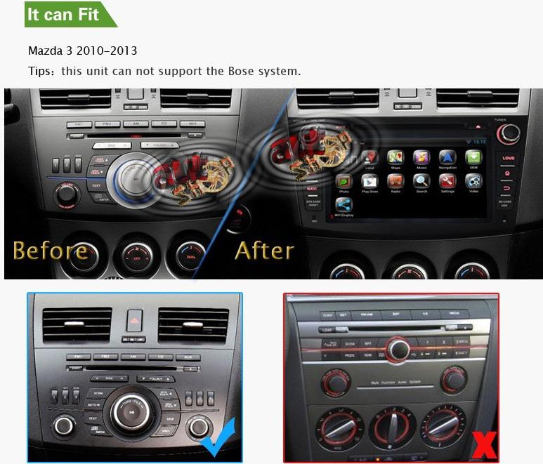 bord compatibil mazda 3 2010 2011 2012 2013 caraudiomarket