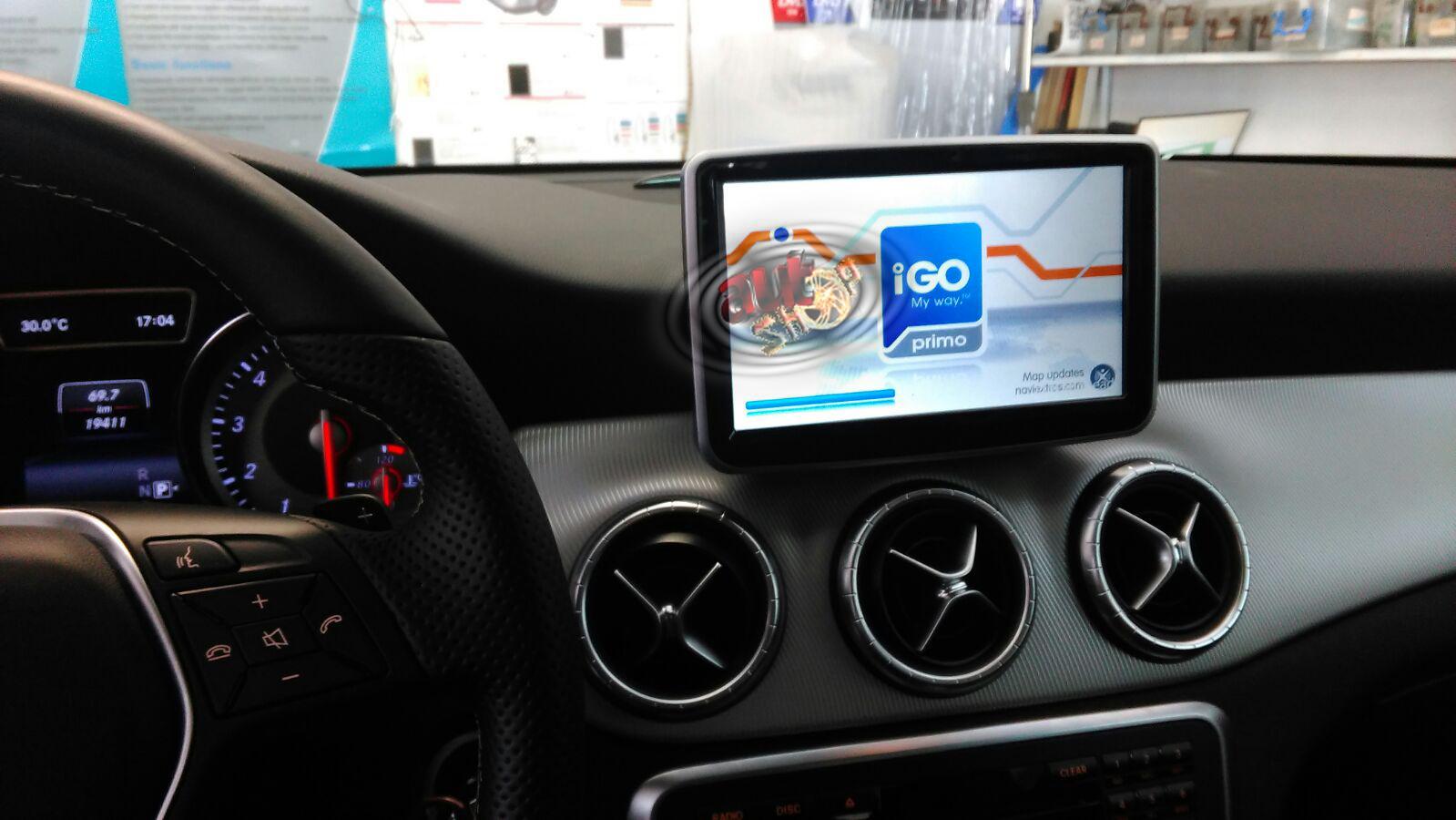 navigatie gps mercedes CLA caraudiomarket