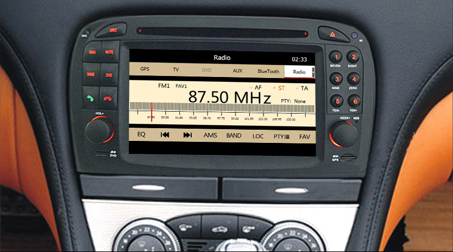 navigatie mercedes SL R230 (2001-2007) caraudiomarket