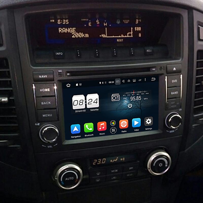 navigatie cu android mitsubishi pajero v97 v93 radio dvd bluetooth gps cu harti igo multimedia filme caraudiomarket craiova