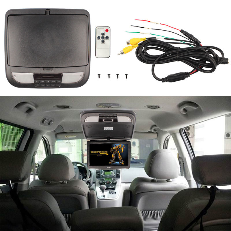 monitor auto de plafon cu jocuri usb dvd caraudiomarket craiova