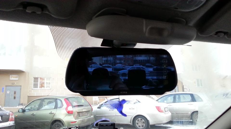 sistem de parcare cu oglinda cu bluetooth senzori si camera mers inapoi caraudiomarket