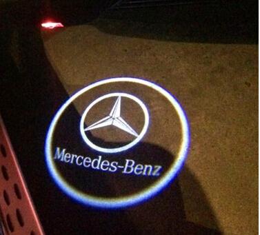 proiector logo dedicat pentru portiere mercedes w203 viano slk clk caraudiomarket
