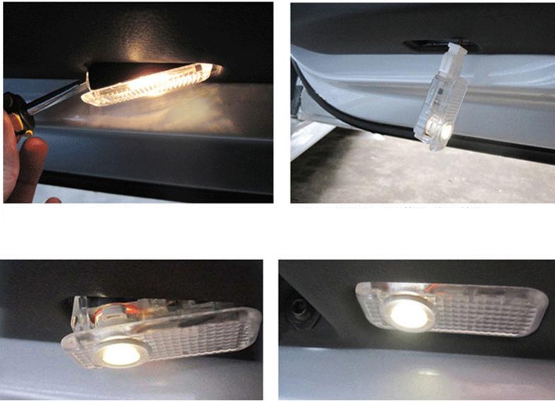 lampa cu logo audi pentru iluminat sub usa caraudiomarket