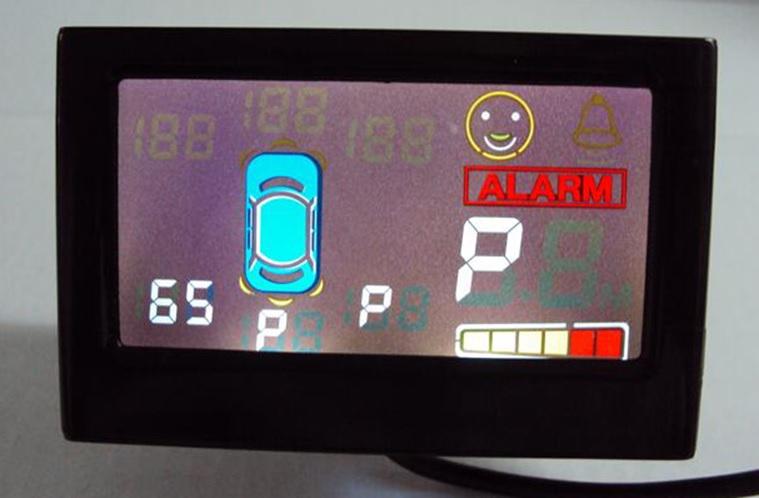 senzori parcare fata si spate cu ecran si avertizare sonora caraudiomarket