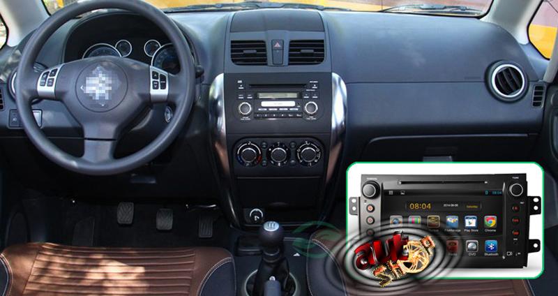 bord compatibil navigatie suzuki sx4 cu android internet gps cu harti igo waze youtube multimedia filme caraudiomarket