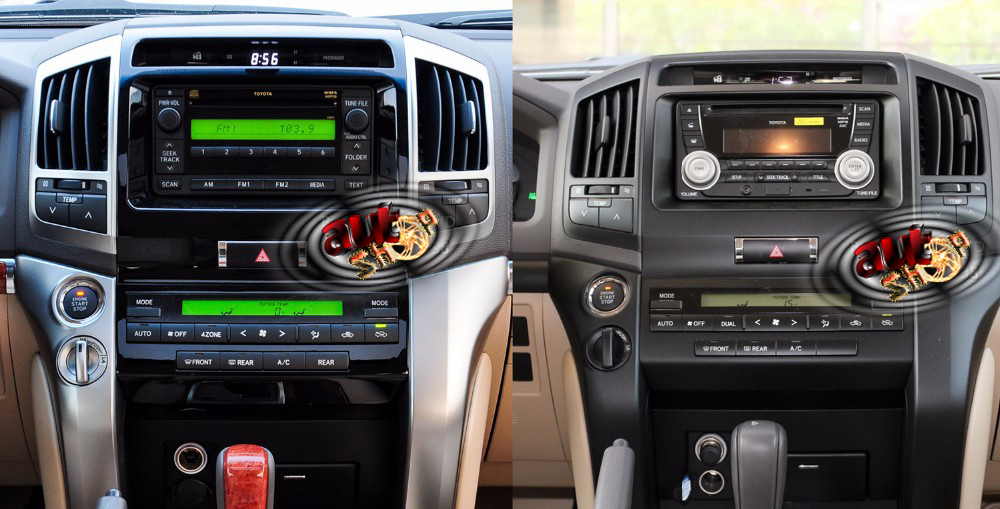 dvd player auto toyota land cruiser 200 cu android caraudiomarket