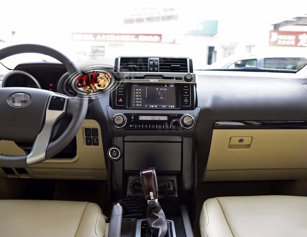 navigatie toyota prado cu android dvd bluetooth gps cu harti incluse camera mers inapoi comenzi volan caraudiomarket