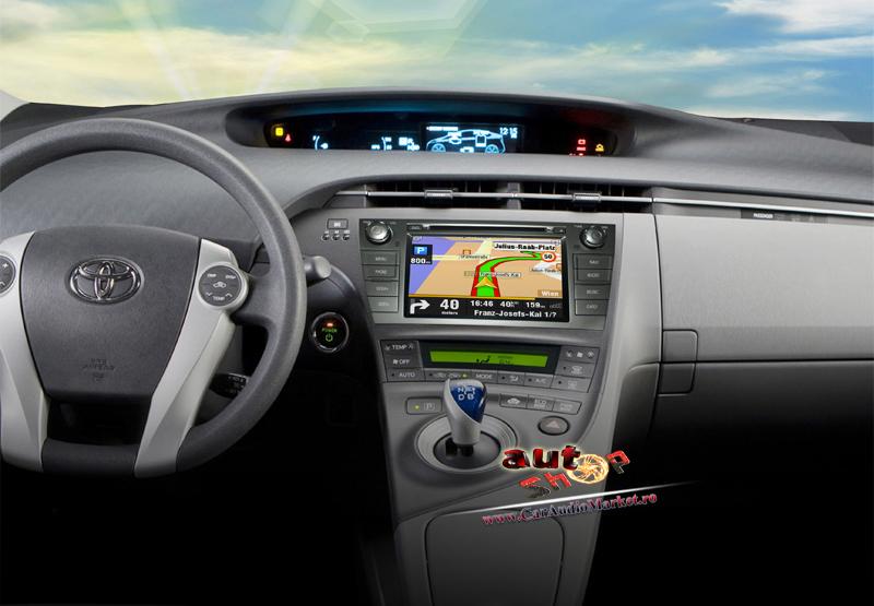 toyota prius cd navigatie caraudiomarket interior toyota prius