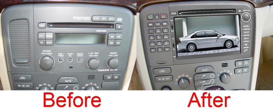 bord volvo s80 compatibil navigatie auto caraudiomarket