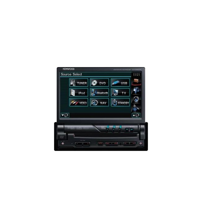 DVD player 1Din cu intrare USB Kenwood
