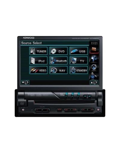 DVD player 1Din cu intrare USB Kenwood