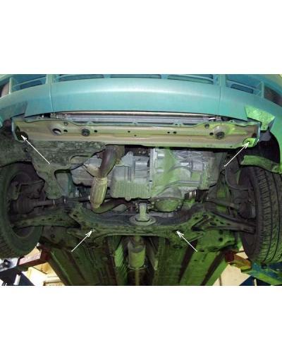Scut metalic pentru motor si cutia de viteze Chevrolet Kalos