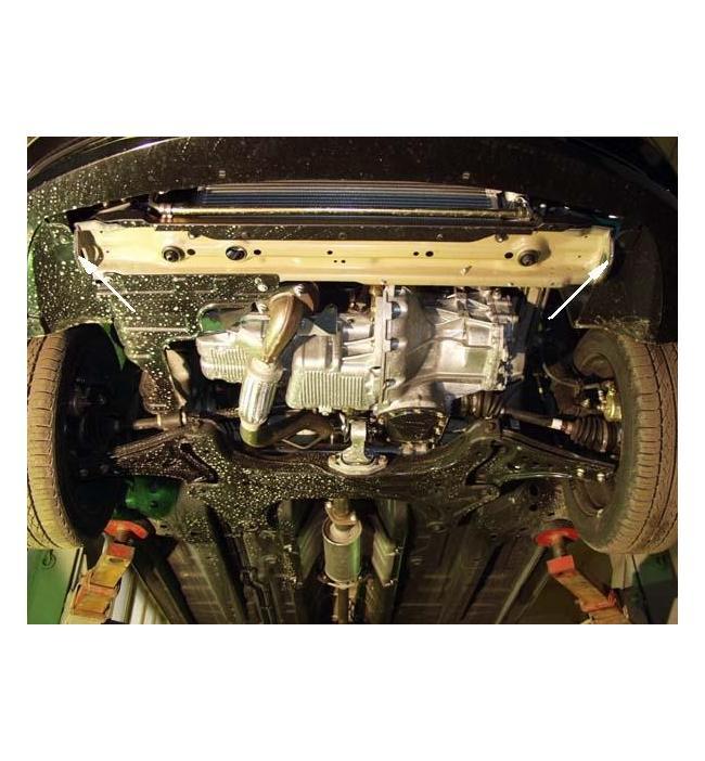 Scut motor metalic pentru Chevrolet Aveo dupa 2006