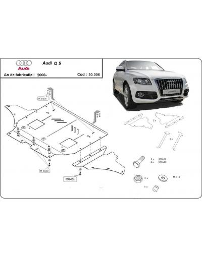 Scut motor metalic Audi Q5 dupa 2008