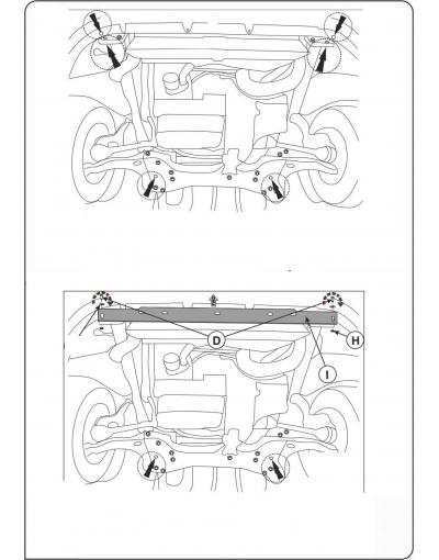 Scut motor metalic pentru Citroen Jumper 2006-