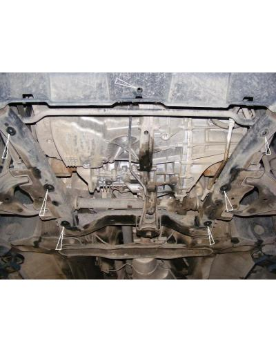 Scut metalic pentru motor si cutia de viteze Dacia Duster