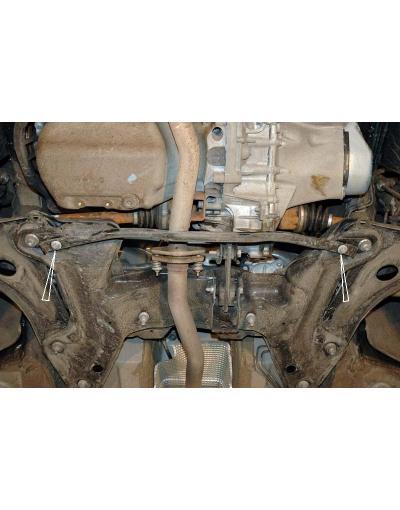Scut metalic pentru motor si cutia de viteze Citroen C2