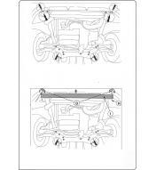 Scut metalic pentru motor si cutia de viteze Fiat Ducato II 2006-