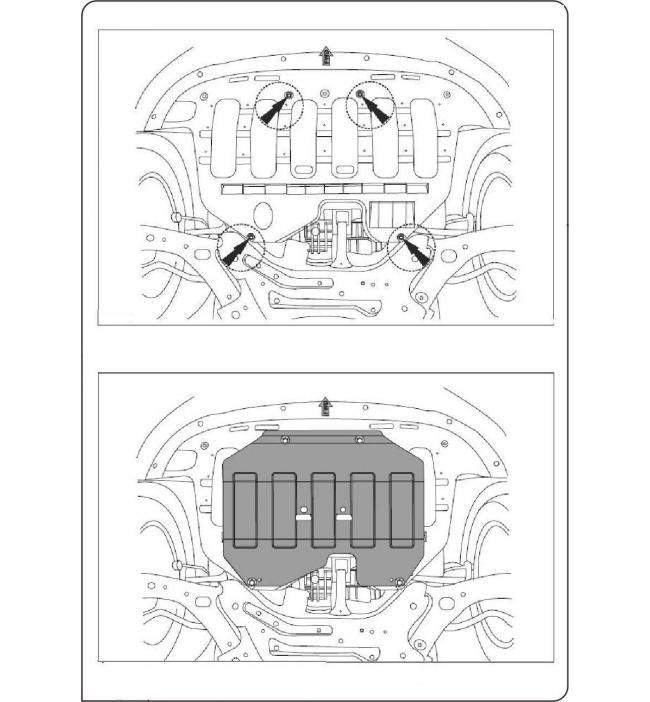 Scut Motor Kia Sportage fabricat dupa 2011