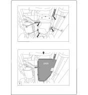 Scut metalic protectie rezervor Nissan Navara incepand cu 2011