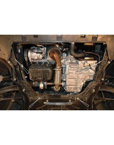 Scut metalic pentru motor si cutia de vitezeze Peugeot 308