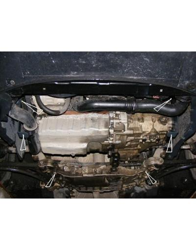 Scut motor metalic Skoda Superb dupa 2008