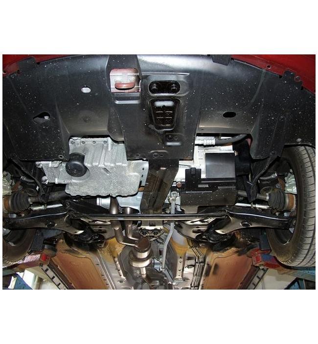 Scut metalic pentru motor si cutia de vitezeze Volvo S40 fabricat intre anii 1997-2004.