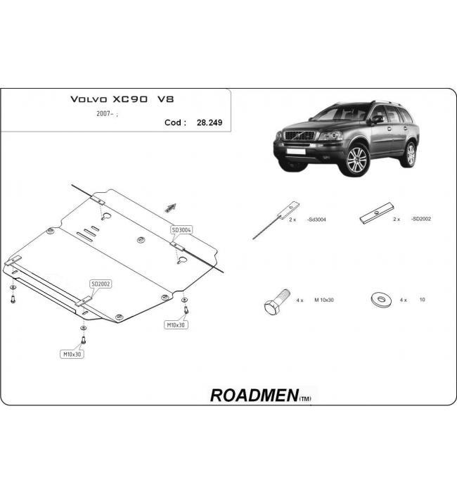 Scut metalic pentru motor si cutia de vitezeze Volvo XC60.