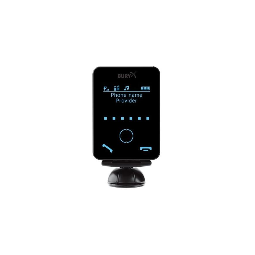 Car Kit Bury CC 9058 - Ecran touchscreen detasabil Bluetooth Incarcare telefon mobil