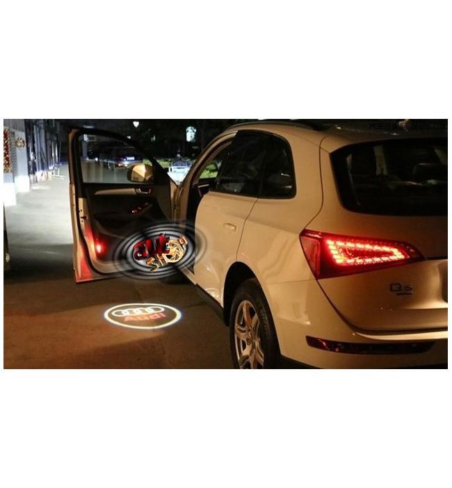 Proiector laser cu logo/marca Alfa Romeo pentru iluminat sub usa