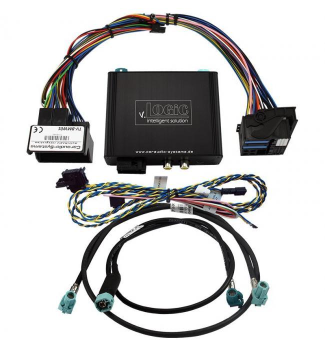 Interfata camera video auto marsarier si fata BMW V5-CIC-F