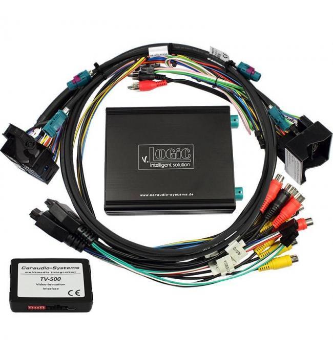 Interfata Multimedia V4-NTG5 audio video Mercedes NTG5