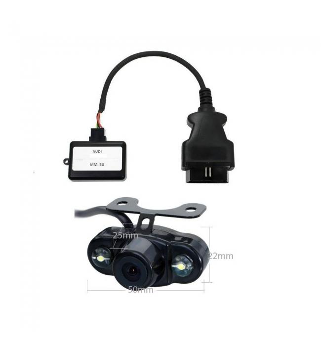 Activator camera video auto Audi MMI 3G Basic si High