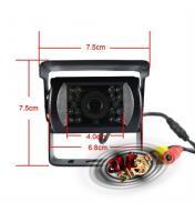 Monitor auto + camera marsarier pentru dube / autoutilitare / masini