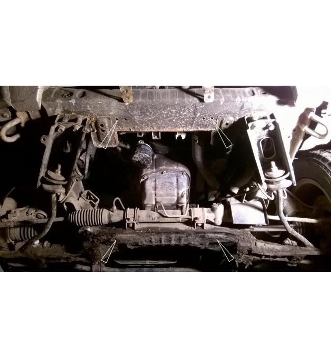 Scut Mitsubishi Pajero Sport incepand cu 2007