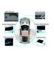 Asistenta la parcare cu 4 camere si 360 grade functie dvr inregistrare si monitorizare
