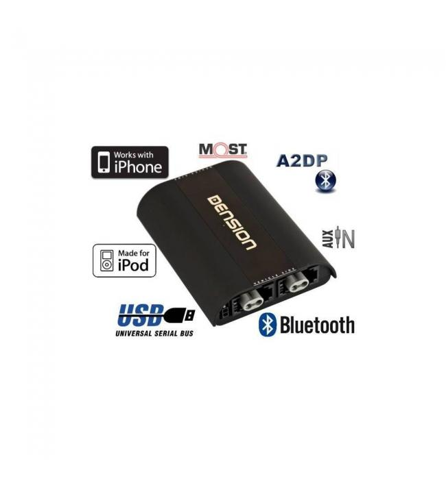 Interfata integrare AUX-IN, USB, iPod, iPhone, Bluetooth, DENSION Gateway 500s BT Single FOT