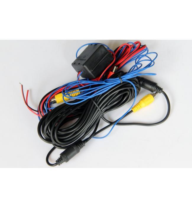Cablu de alimentare și cablu video pentru camera marsarier Audi, VW
