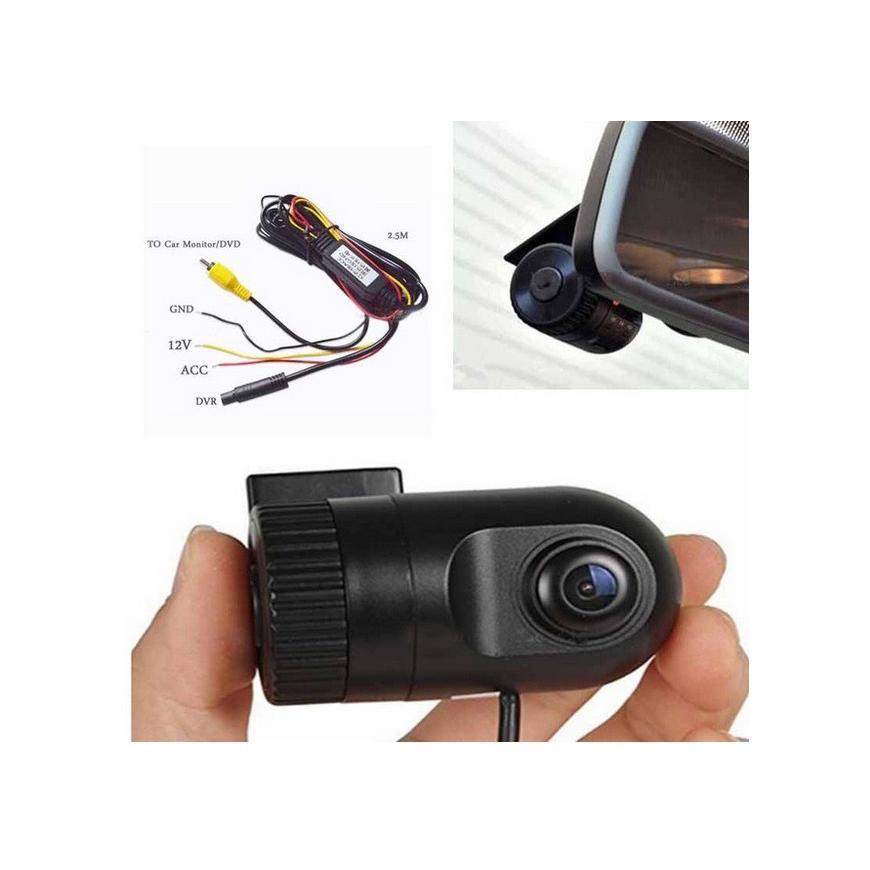 DVR Camera video pentru unitatile auto cu intrare video RCA