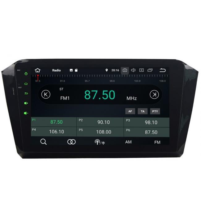 Navigatie dedicata VW Passat B8 2015 2016 2017 2018 cu android si radio